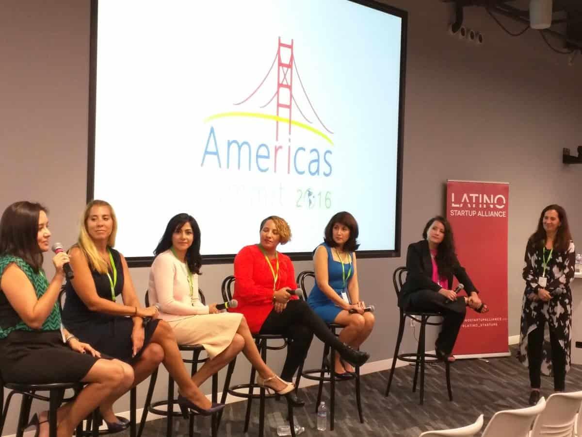 Carolina Calderón was part of the AMERICAS SUMMIT 2016