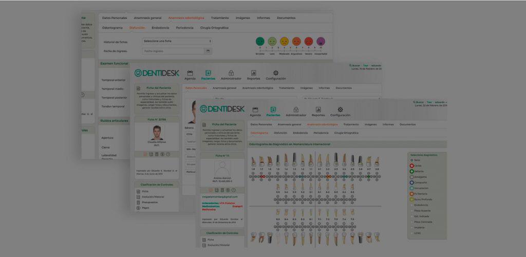 Toda la información de sus pacientes en un único lugar