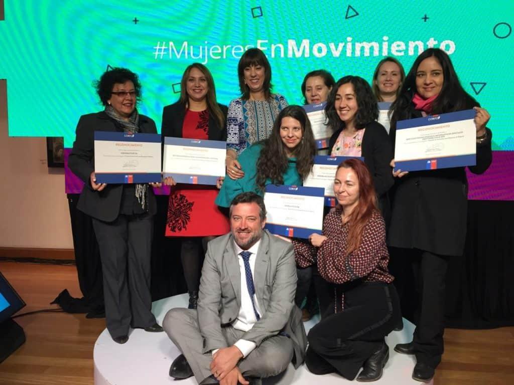 Carolina Calderon entre las mujeres innovadoras de Chile